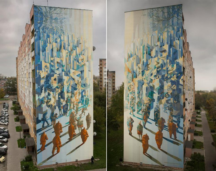 Recycles diptych
